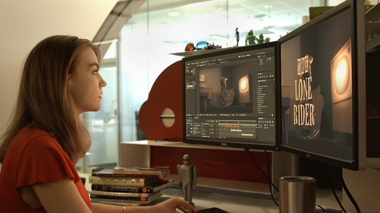 Digital Media Institute grads land on the Moon(bot)