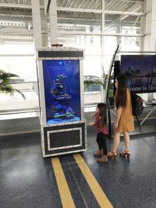 DMII grads create virtual tank for Shreveport Aquarium on display at Regional Airport