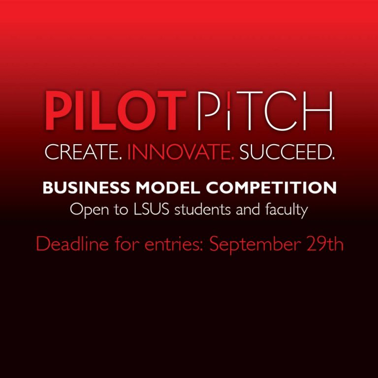 LSUS students and faculty invited to pitch their big ideas in Pilot Pitch competition