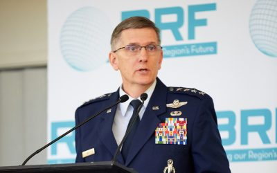 Community hears from General Timothy M. Ray at BRF Annual Meeting