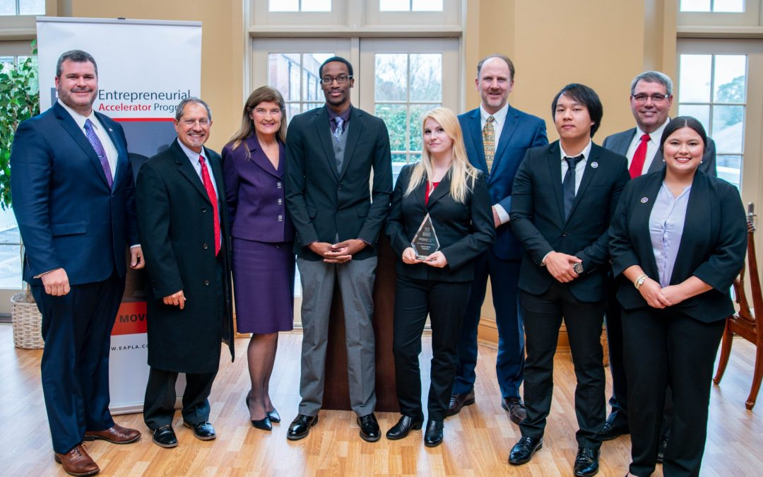 Congratulations to the winners of EAP's Grand Prix Business Model Competitions