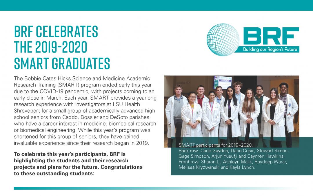 BRF celebrates the 2019-2020 SMART graduates