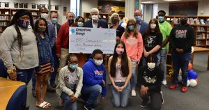 CenterPoint Energy awards BRF a $5,000 grant to support the Biotechnology Magnet Academy